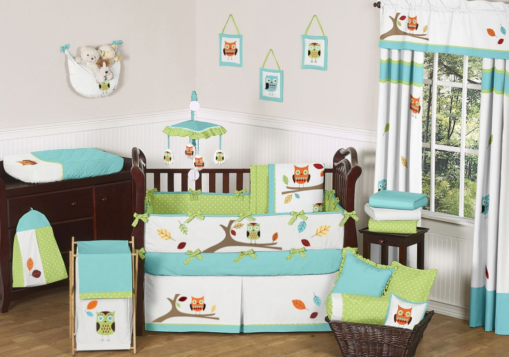 Image of: Infant Girl Bedding Decors
