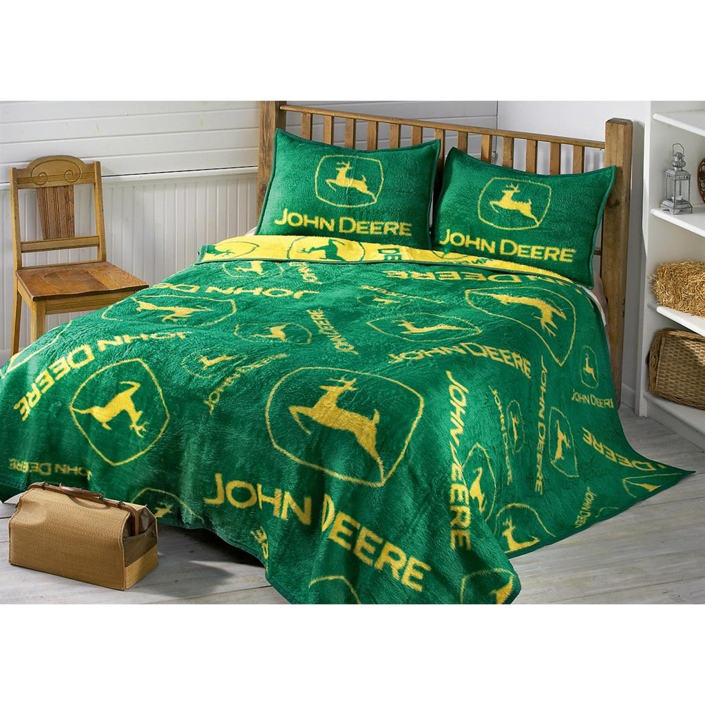 Image of: John Deere Logo Sham 77738 Quilt Sportsman 39 Guide Short Article Reveals The Undeniable Facts About John Deere Bedding And How It Can Affect You