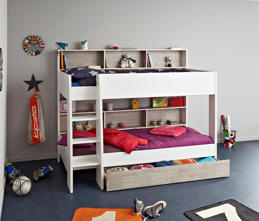 Image of: Loft Beds With Desk