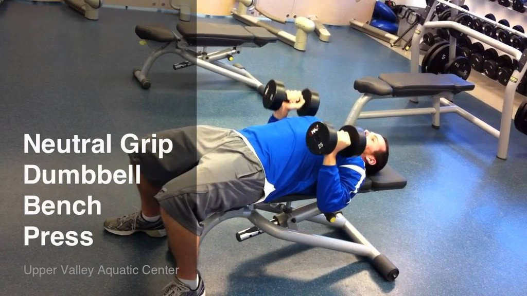 Image of: Neutral Grip Incline Dumbbell Bench Press 28 Image Star Wars Bed Set Ideas