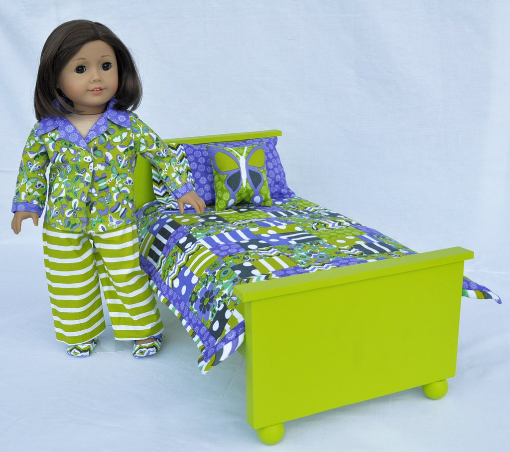 Image of: Play Doll Firetrail Design Fun Ideas Doll American Girl Bed Set