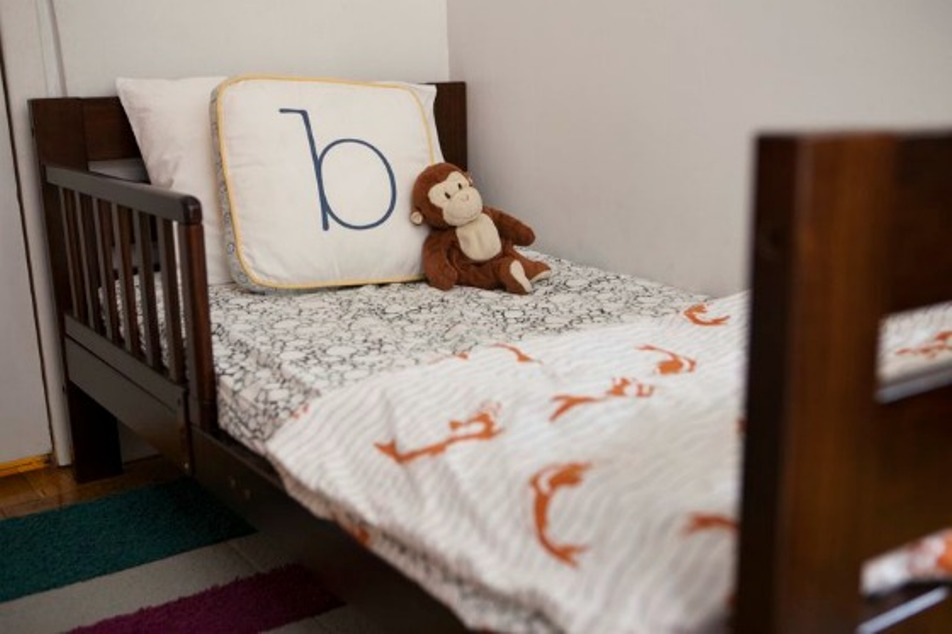 Image of: Pottery Barn Toddler Bedding