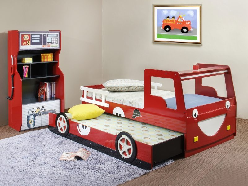 Image of: Race Car Bed Toddler Designs