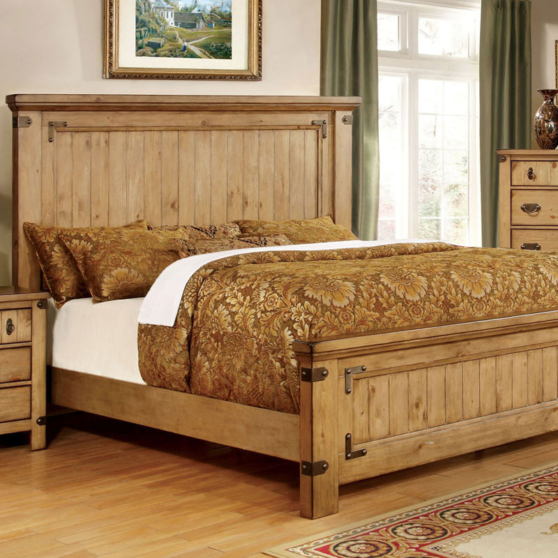 Image of: Rustic Style Bedding