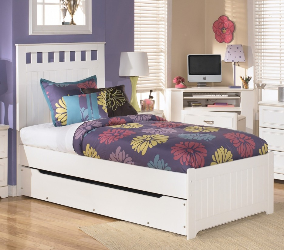 Image of: Twin Bed Frame Ikea Placed