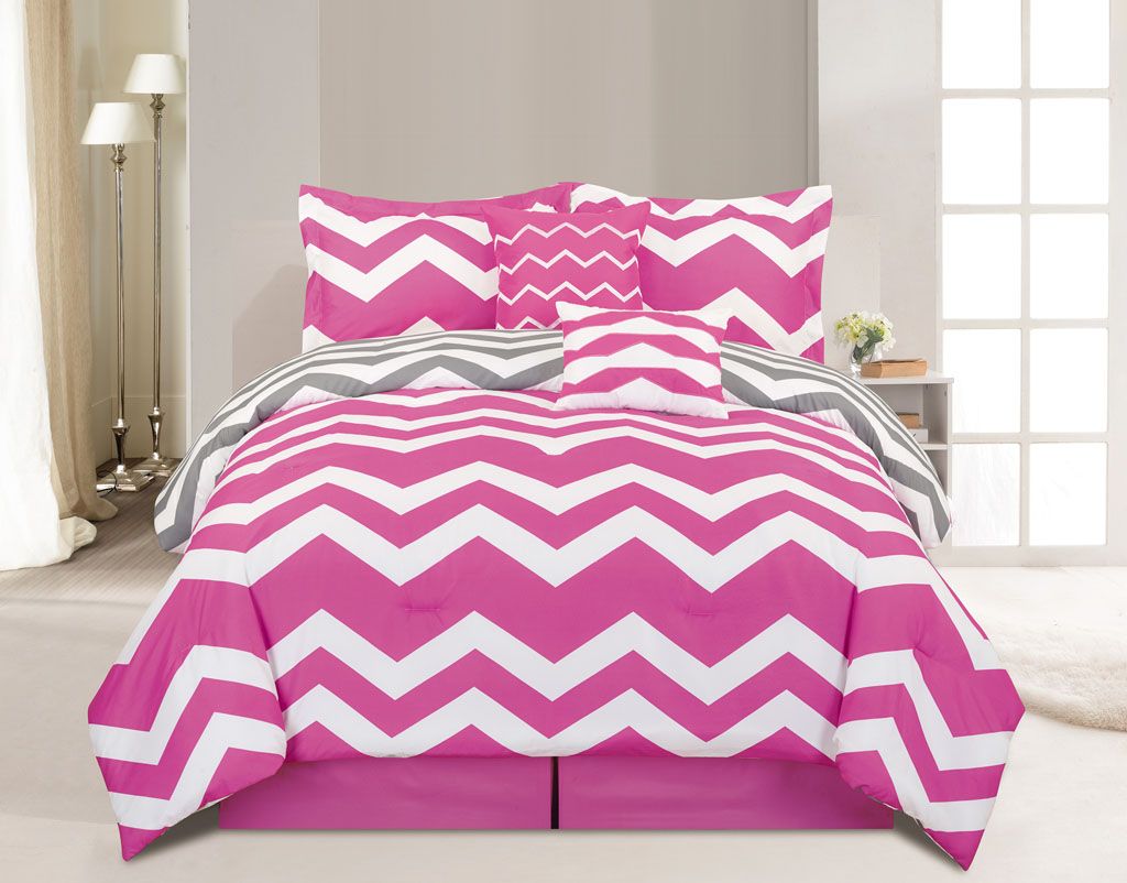 Image of: White And Pink Bed Sheets