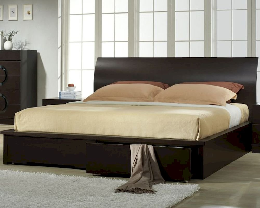 Image of: Zen Platform Bed Asian Contemporary Wood Platform Bed Zen Bed Walnut Interalle Fun Ideas Doll American Girl Bed Set