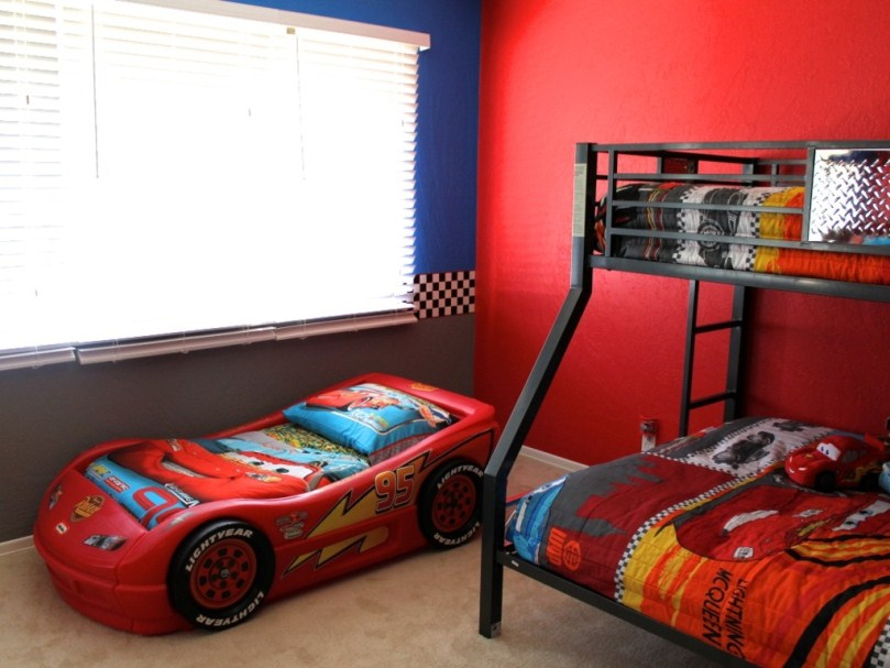 Image of: Amazing Toddler Beds Boys Cars