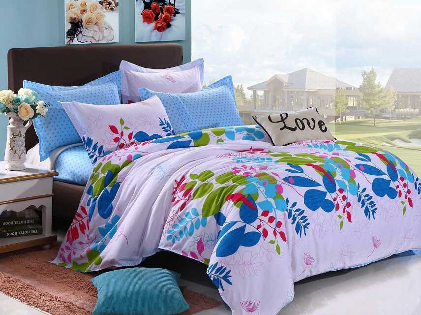 Image of: Bed Sets Teens Flower