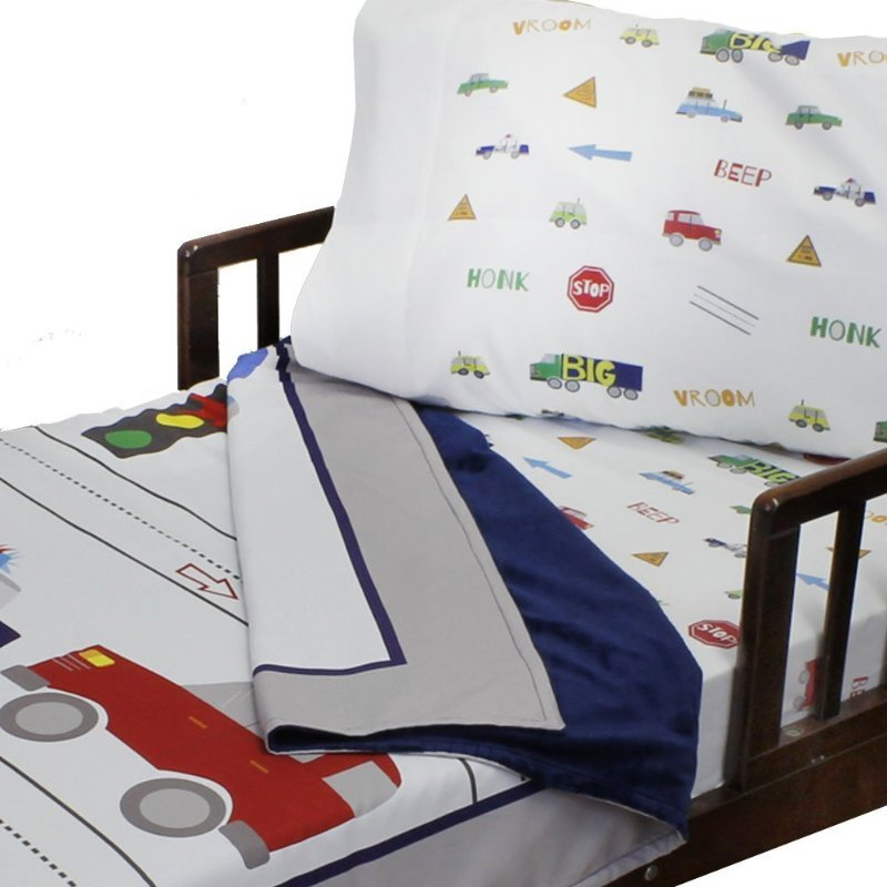 Image of: Car Truck Bedding Bedding Set Collection Wonderful Ideas Toddler Bed Sets Boy