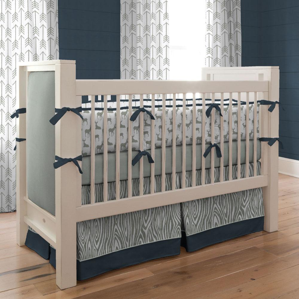Image of: Crib Bedding Sets For Boys Pattern
