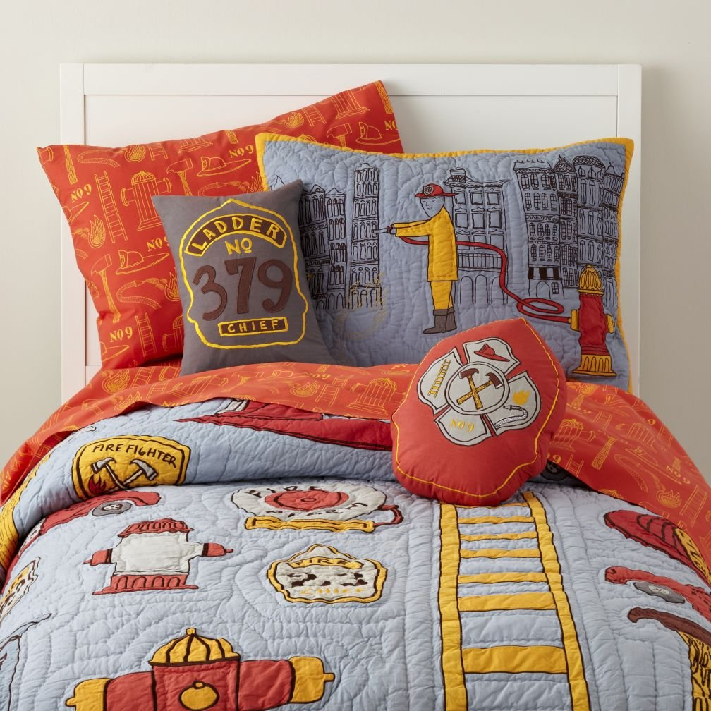 Image of: Fire Truck Bedding Totally Kids Totally Bedroom Kid Bedroom Idea Wonderful Ideas Toddler Bed Sets Boy