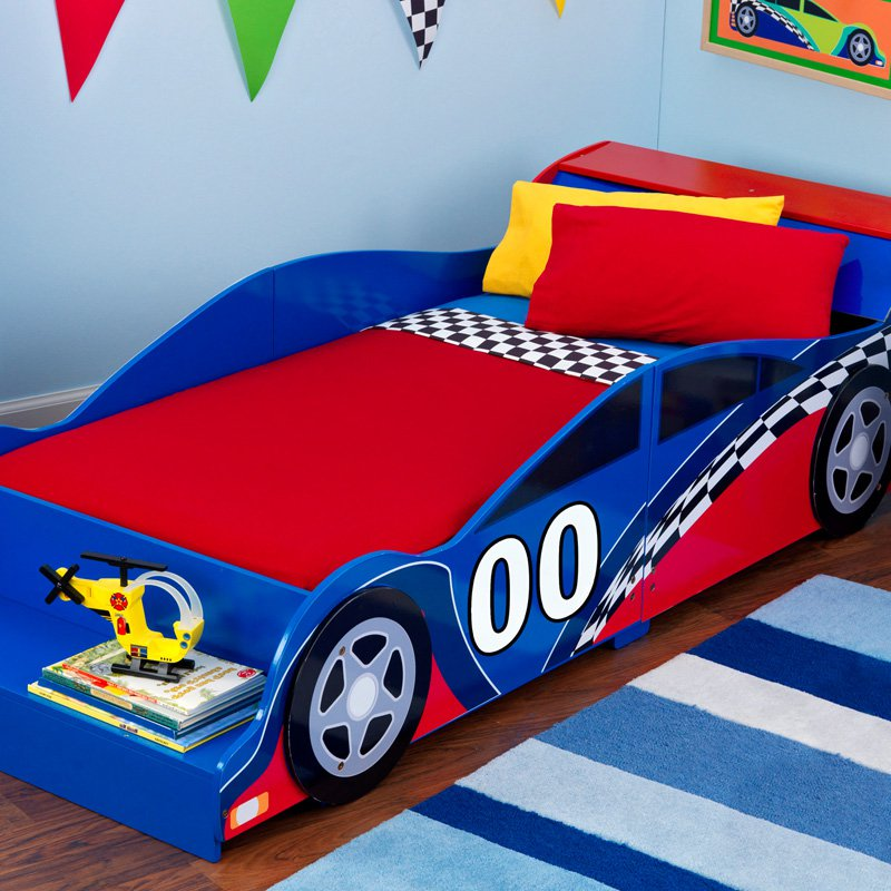 Image of: Ideas Fire Truck Toddler Bed