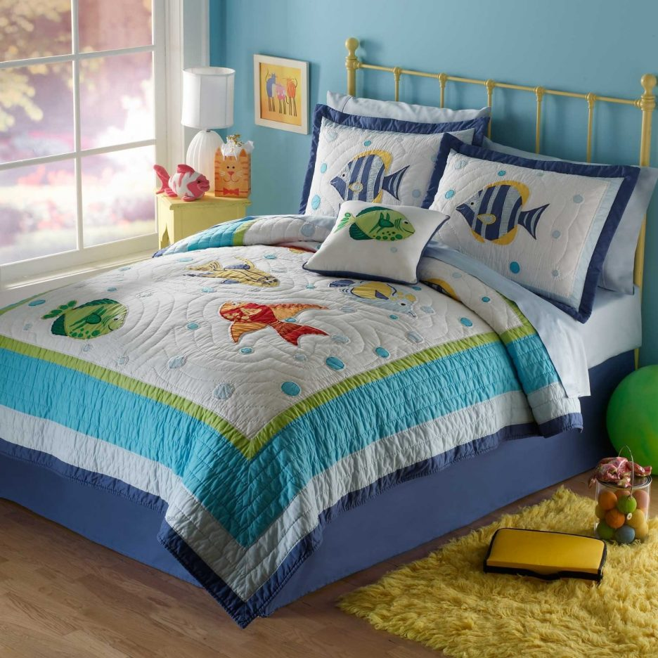 Image of: Ideas Toddler Bed Sets Boy Decor
