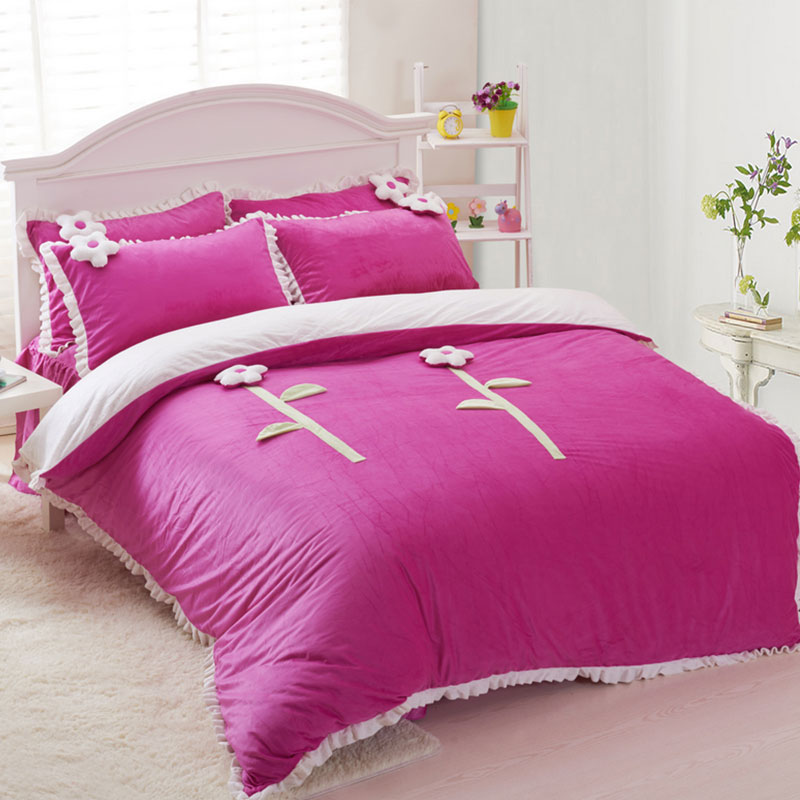 Image of: Pink Bed Teens