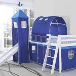 Childrens Bed With Slide And Ladder