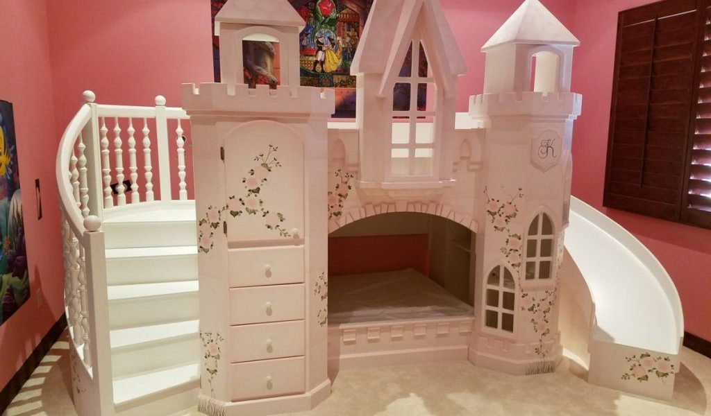 Image of: Princess Bunk Bed Plans