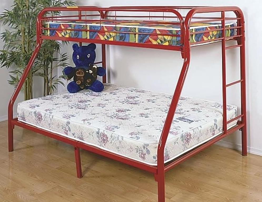 Image of: Bunk Bed Frames Twin Over Full