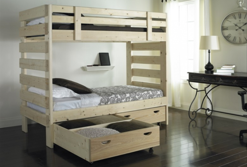 Stackable Bunk Beds With Storage