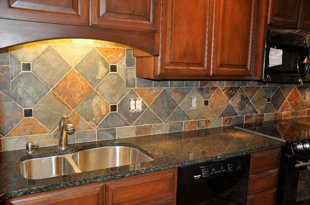 Image of: Backsplash Tile Ideas For Granite Countertops