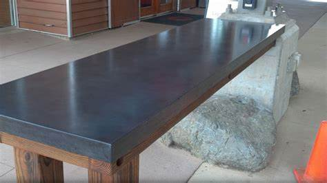 Image of: Best Concrete Countertop Finishes