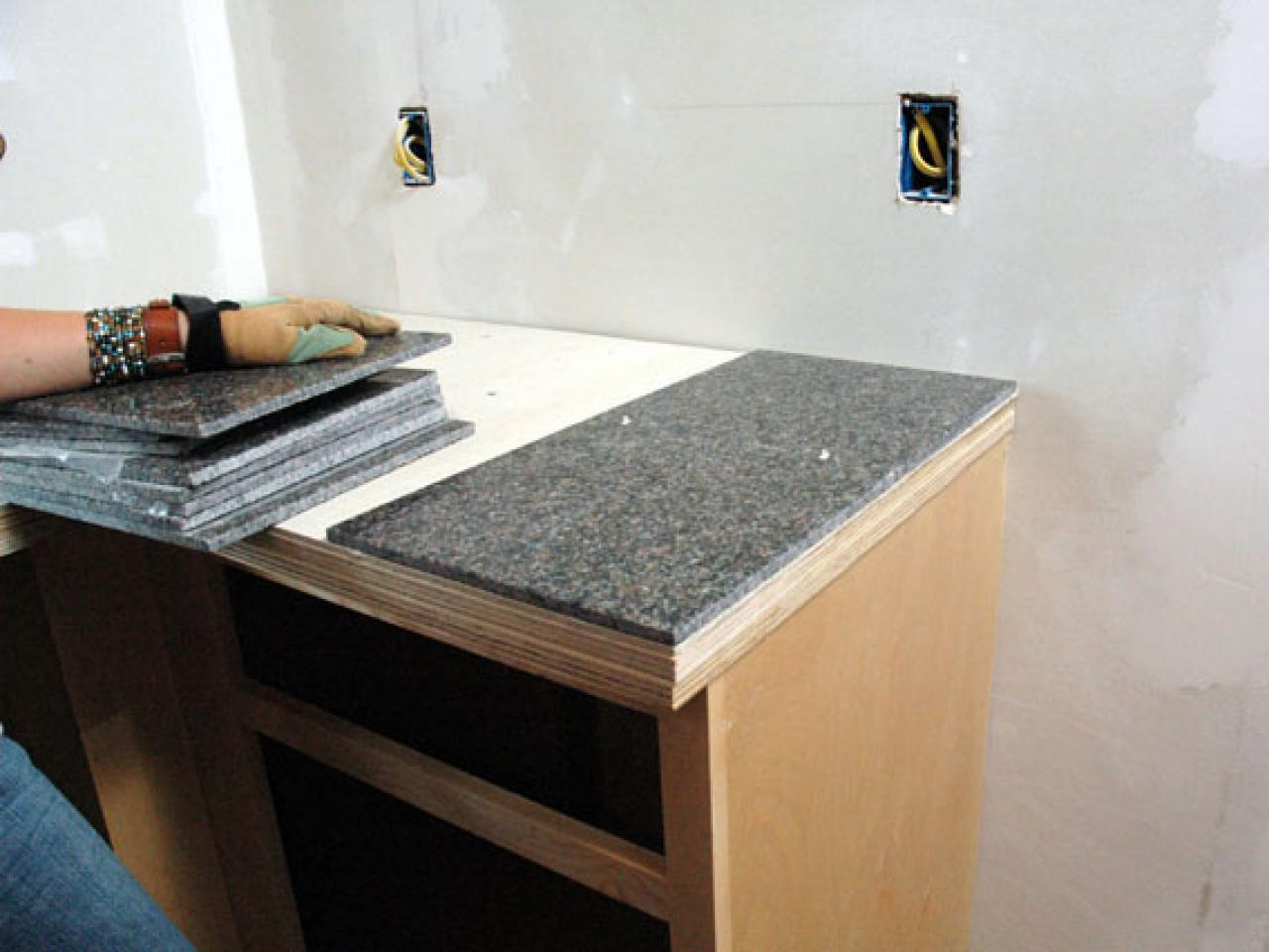 Image of: Best Tile For Countertops