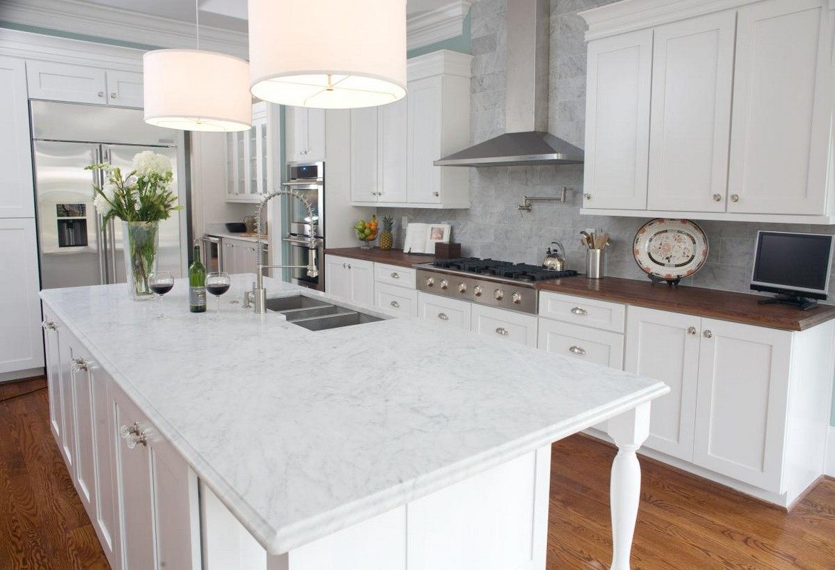 Image of: Best White Granite Countertops