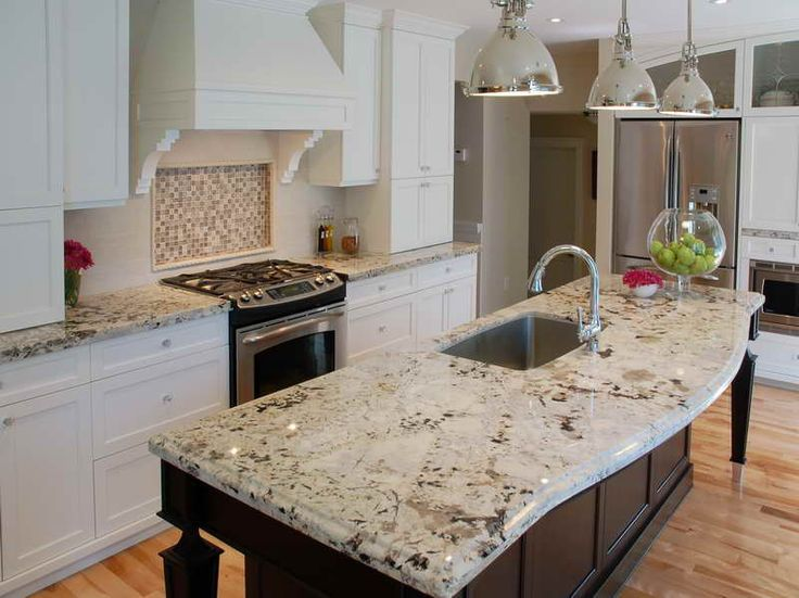 Image of: Best White Kitchens With Granite Countertops