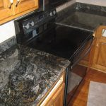Black Granite Kitchen Countertops Photos