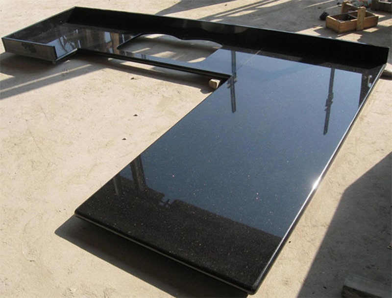 Image of: Black Marble Countertops Cochise County