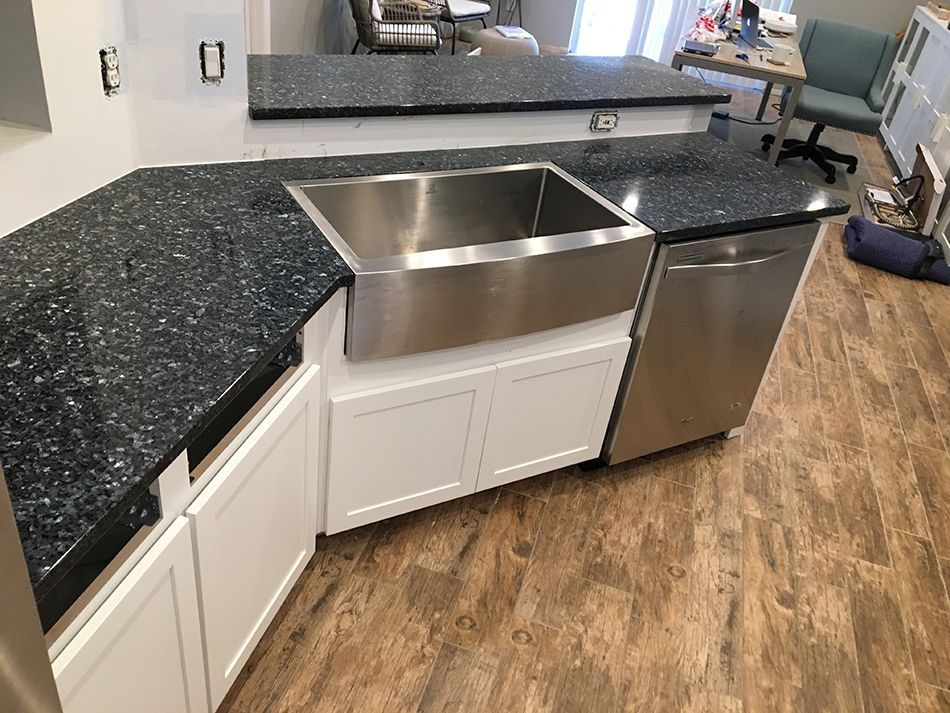 Blue Pearl Granite Countertops Pictures