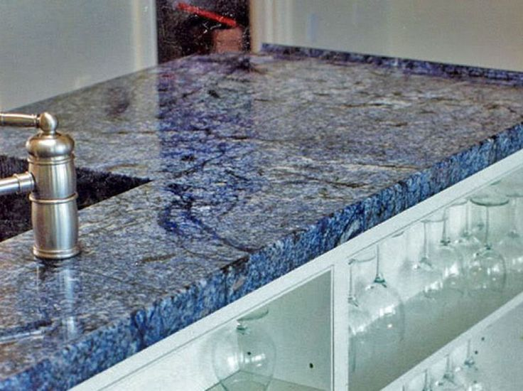 Image of: Blue Quartz Countertops Colors And Patterns