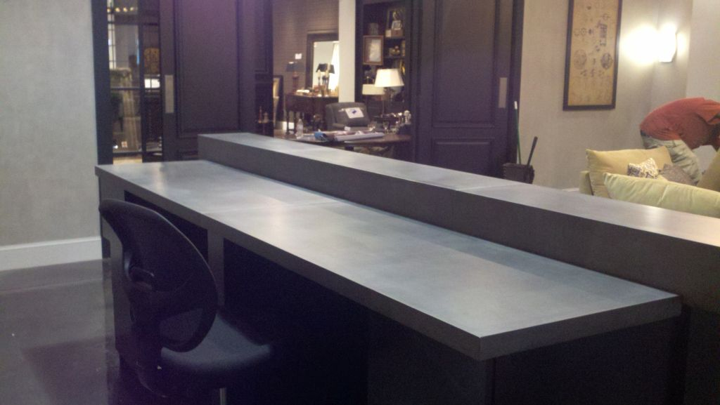 Image of: Cast In Place Concrete Countertop Mix