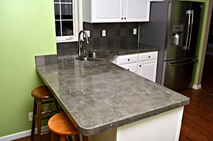 Concrete Countertop Finishing