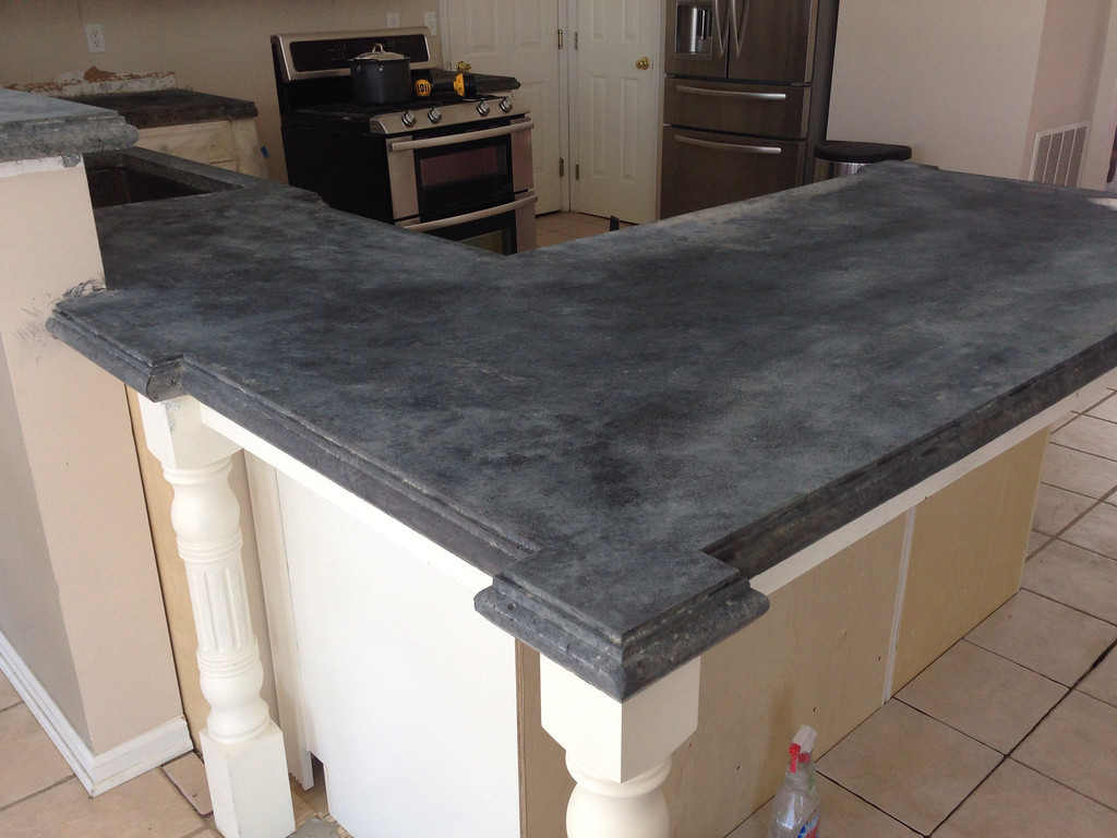 Image of: Concrete Countertop Stain Colors