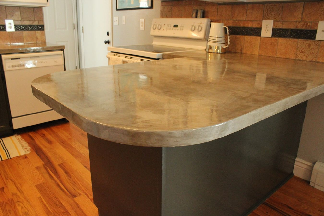 Concrete Kitchen Countertops Steps