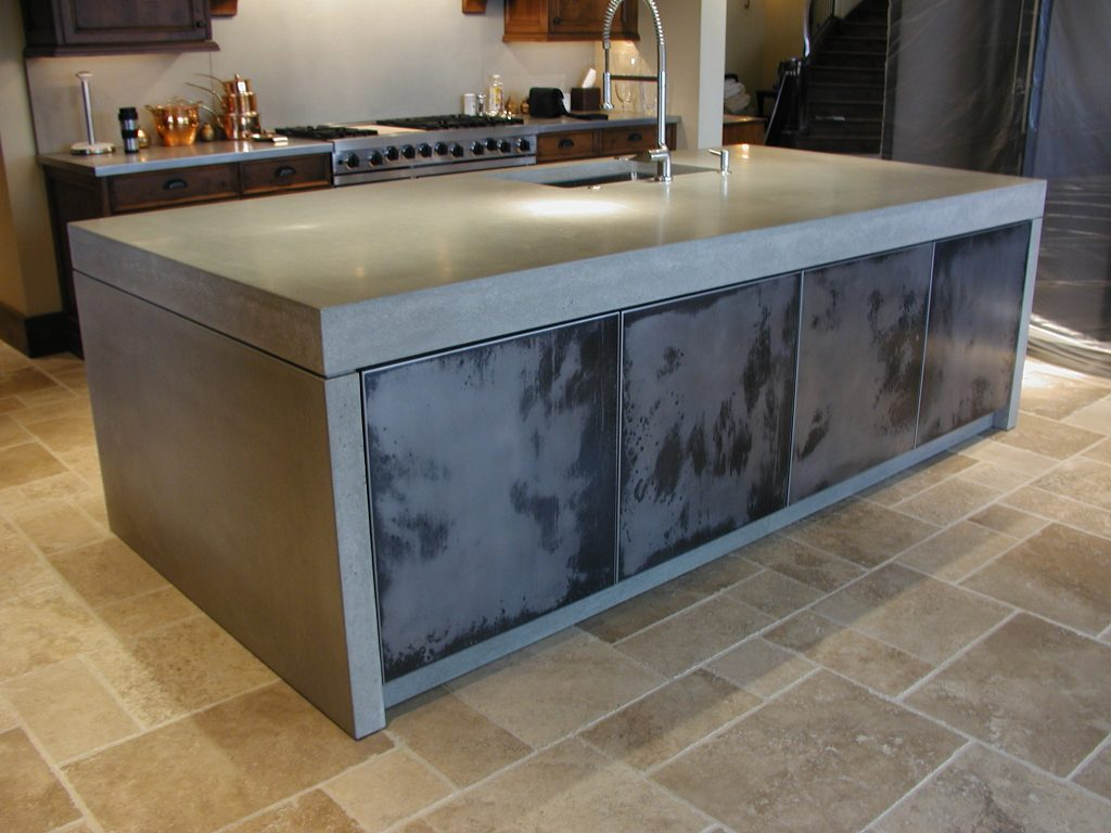 Image of: Cost Of Concrete Countertops