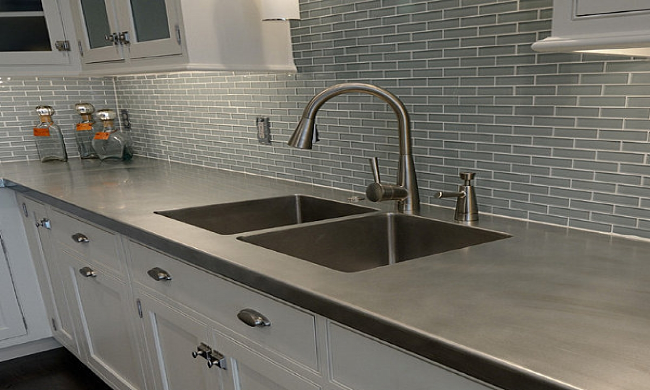 Image of: Cultured Marble Countertops Kitchen