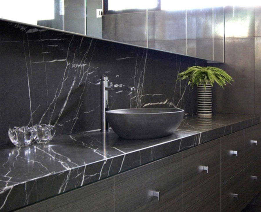 Image of: Cultured Marble Tile Countertop