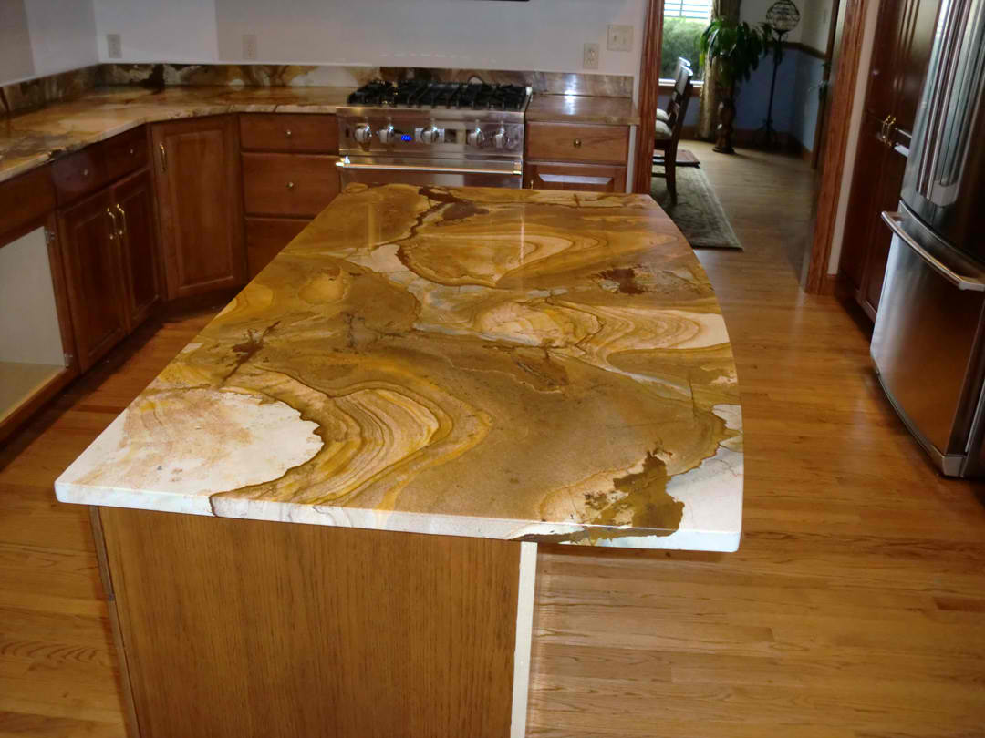 Image of: Different Types Of Granite For Countertops