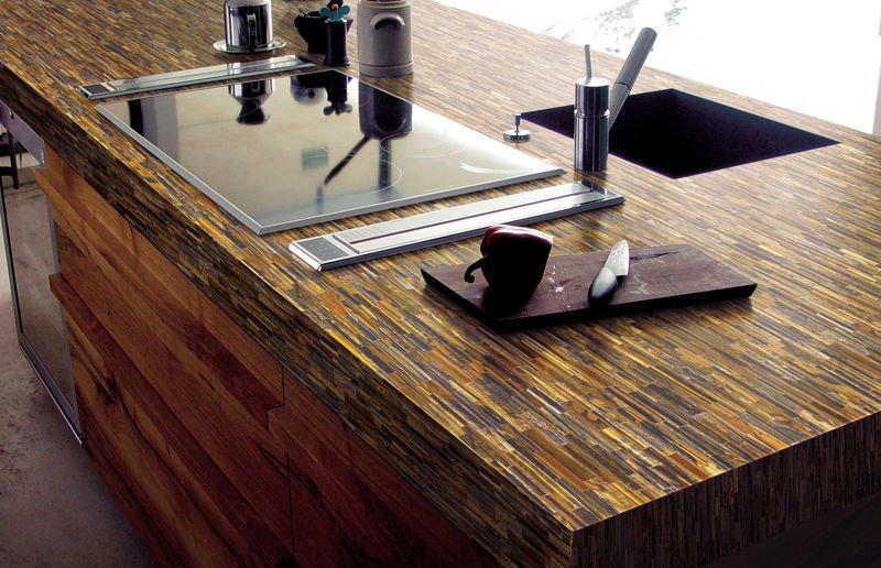Image of: Engineered Quartz Countertops Design