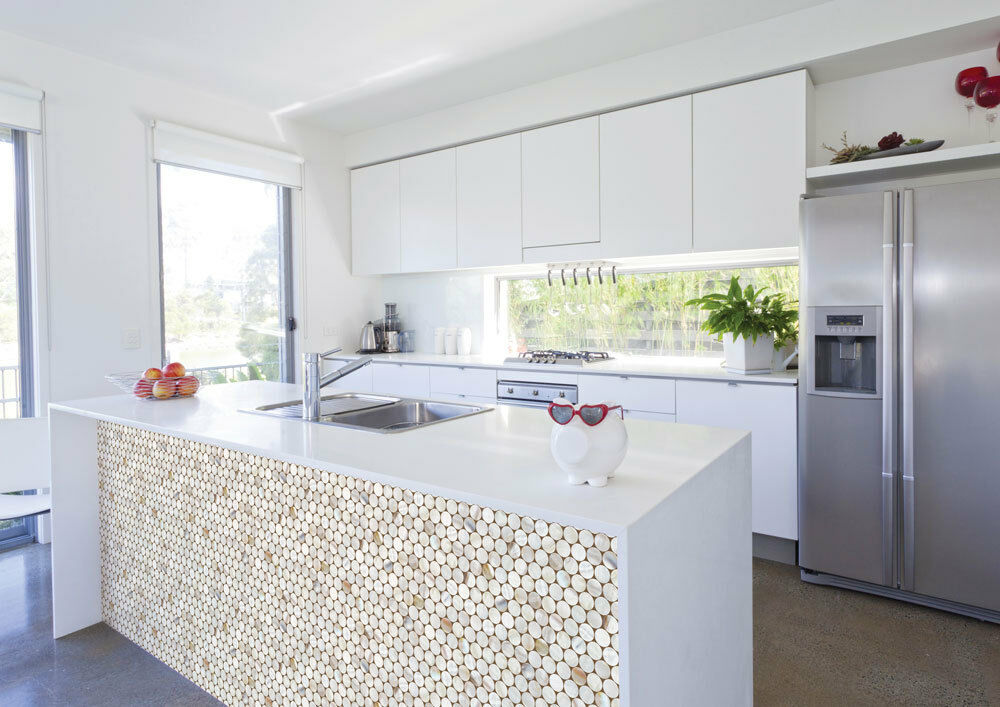 Image of: Epoxy Over Contact Paper Countertop
