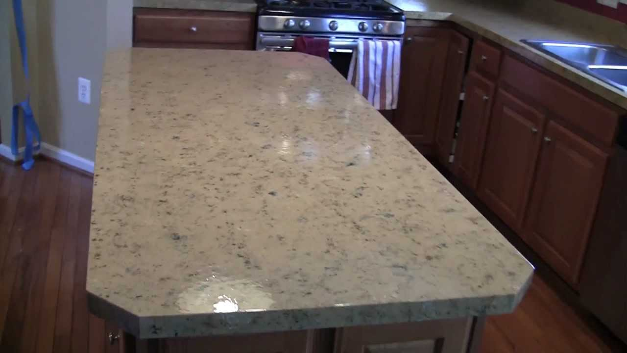 Image of: Fake Granite Countertop Vs Real Granite