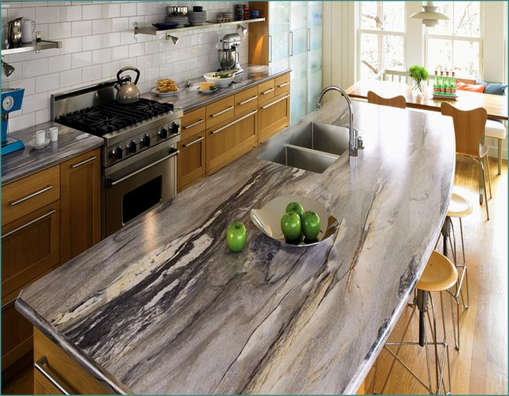 Image of: Famous Marble Look Countertops