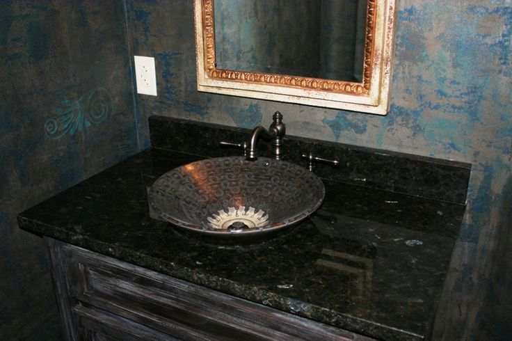 Image of: Faux Granite Countertops Peel Stick