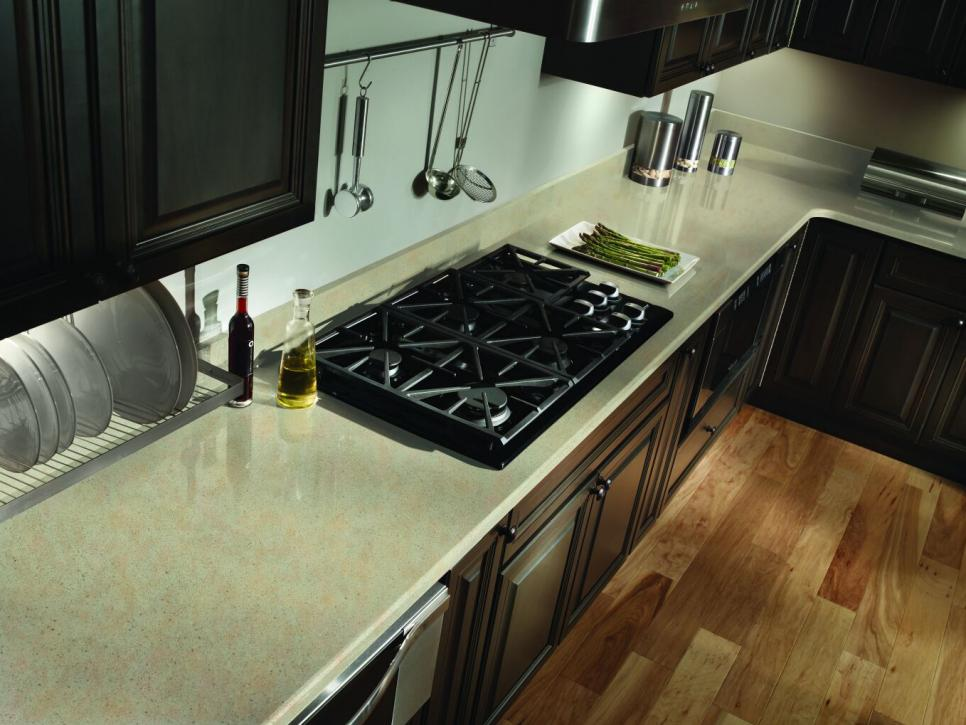 Image of: Good Engineered Quartz Countertops