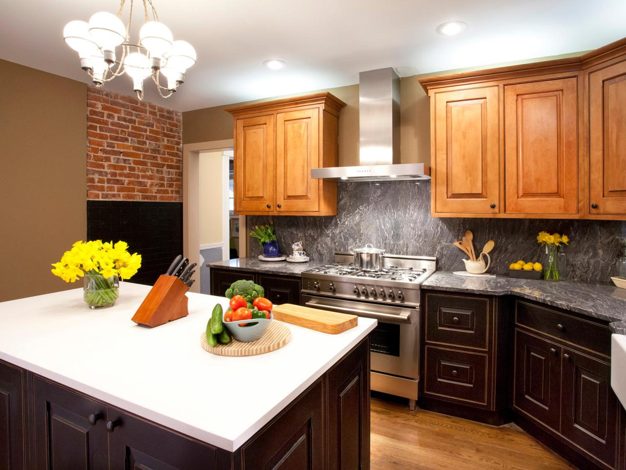 Image of: Granite Kitchen Countertops Images