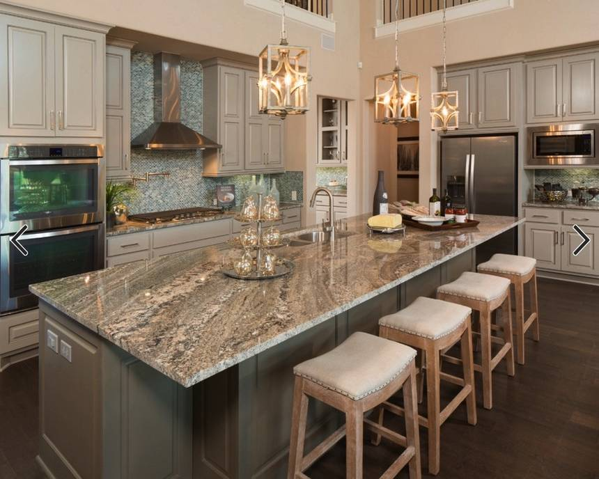 Image of: Granite Kitchen Countertops Pictures