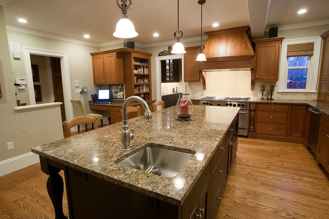 Image of: Granite Pictures For Kitchen Countertops