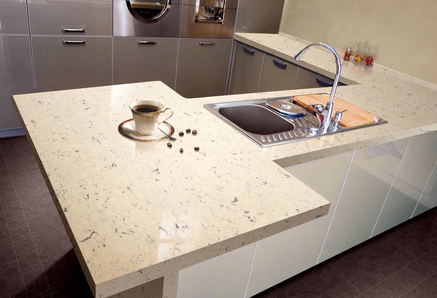 Image of: Great Engineered Quartz Countertops